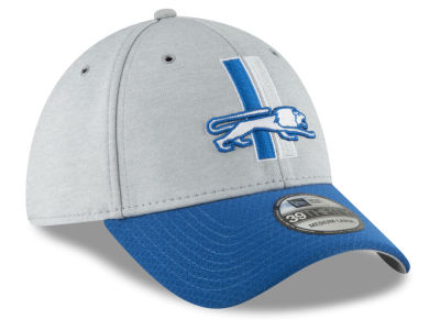 Detroit Lions New Era 2018 Official NFL Sideline Home 39THIRTY Cap