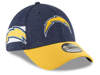 Los Angeles Chargers New Era 2018 Official NFL Sideline Home 39THIRTY Cap