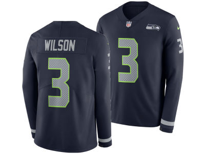 Seattle Seahawks RUSSELL WILSON Nike NFL Men s Therma Jersey 58660376d