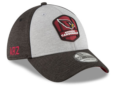 the latest 88ed2 67a86 Arizona Cardinals New Era 2018 Official NFL Sideline Road 39THIRTY Cap