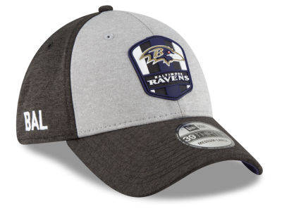 Baltimore Ravens New Era 2018 Official NFL Sideline Road 39THIRTY Cap