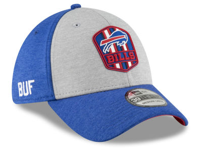 Buffalo Bills New Era 2018 Official NFL Sideline Road 39THIRTY Cap