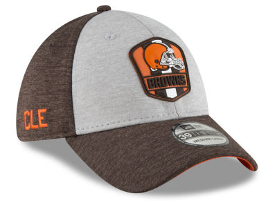 Cleveland Browns New Era 2018 Official NFL Sideline Road 39THIRTY Cap