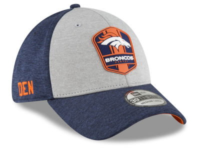 Denver Broncos New Era 2018 Official NFL Sideline Road 39THIRTY Cap