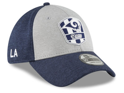 Los Angeles Rams New Era 2018 Official NFL Sideline Road 39THIRTY Cap