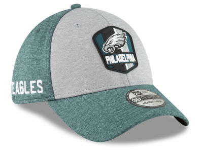 Philadelphia Eagles New Era 2018 Official NFL Sideline Road 39THIRTY Cap