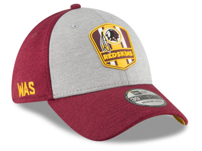 Washington Redskins New Era 2018 Official NFL Sideline Road 39THIRTY Cap