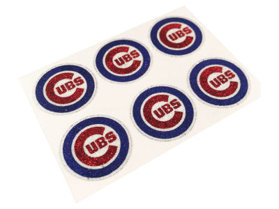 Chicago Cubs MLB Glitter Decals