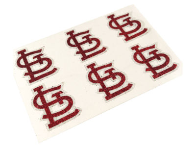 St. Louis Cardinals MLB Glitter Decals