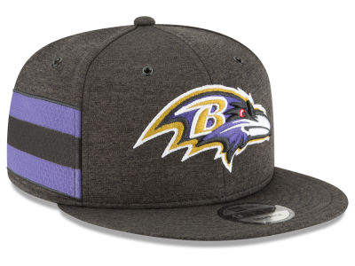 Baltimore Ravens New Era 2018 Official NFL Sideline Home 9FIFTY Snapback Cap