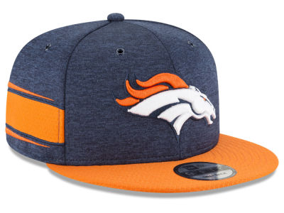 Denver Broncos New Era 2018 Official NFL Sideline Home 9FIFTY Snapback Cap