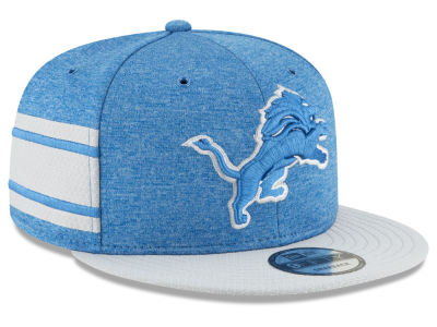 Detroit Lions New Era 2018 Official NFL Sideline Home 9FIFTY Snapback Cap