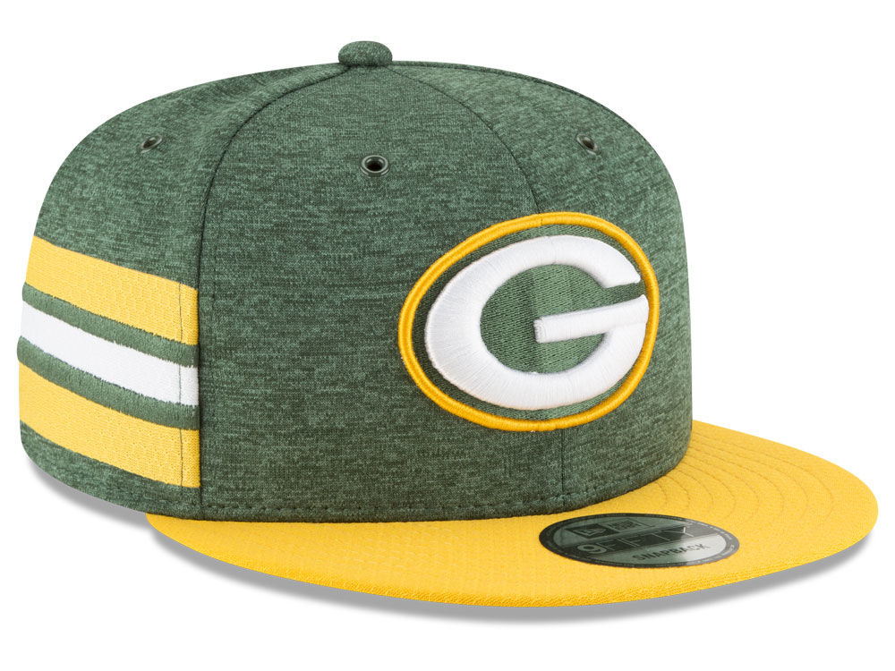 Green Bay Packers New Era 2018 Official NFL Sideline Home 9FIFTY Snapback  Cap  878566982