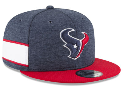 Houston Texans New Era 2018 Official NFL Sideline Home 9FIFTY Snapback Cap