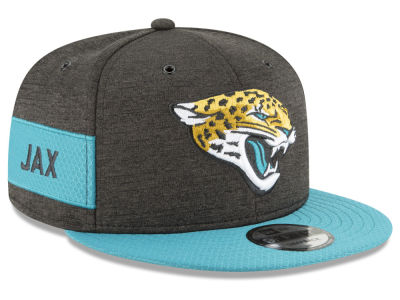 Jacksonville Jaguars New Era 2018 Official NFL Sideline Home 9FIFTY Snapback Cap
