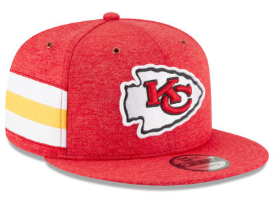 Kansas City Chiefs New Era 2018 Official NFL Sideline Home 9FIFTY Snapback Cap