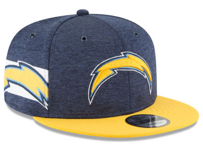 Los Angeles Chargers New Era 2018 Official NFL Sideline Home 9FIFTY Snapback Cap