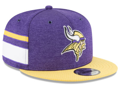 Minnesota Vikings New Era 2018 Official NFL Sideline Home 9FIFTY Snapback Cap