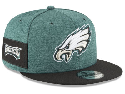 Philadelphia Eagles New Era 2018 Official NFL Sideline Home 9FIFTY Snapback  Cap d0e09cab9