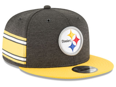 Pittsburgh Steelers New Era 2018 Official NFL Sideline Home 9FIFTY Snapback Cap