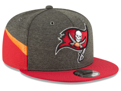 Tampa Bay Buccaneers New Era 2018 Official NFL Sideline Home 9FIFTY Snapback Cap