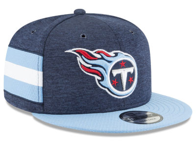 Tennessee Titans New Era 2018 Official NFL Sideline Home 9FIFTY Snapback Cap