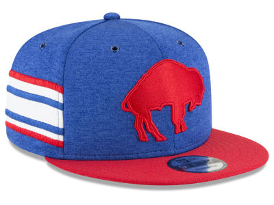 Buffalo Bills New Era 2018 Official NFL Sideline Home 9FIFTY Snapback Cap
