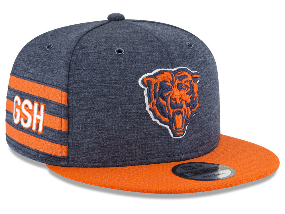 ... chicago bears new era 2018 official nfl sideline home 9fifty snapback  cap 40a4d 7e3a4 coupon code for vintage chicago bears snapback hat cap 90s  ... 0877c2d93497
