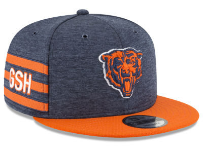 Chicago Bears New Era 2018 Official NFL Sideline Home 9FIFTY Snapback Cap
