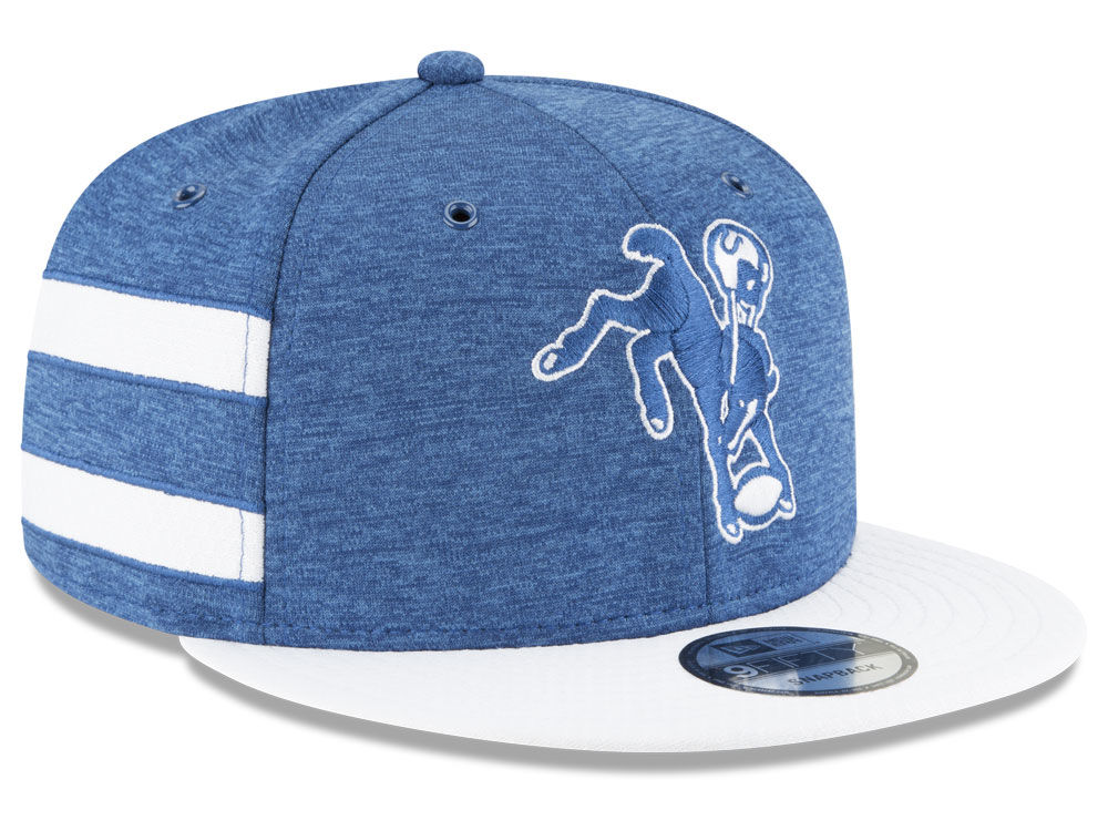 b82ac95294478 ... switzerland indianapolis colts new era 2018 official nfl sideline home  9fifty snapback cap 5be7b a00e5