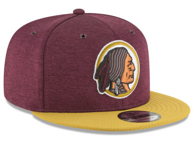 Washington Redskins New Era 2018 Official NFL Sideline Home 9FIFTY Snapback Cap