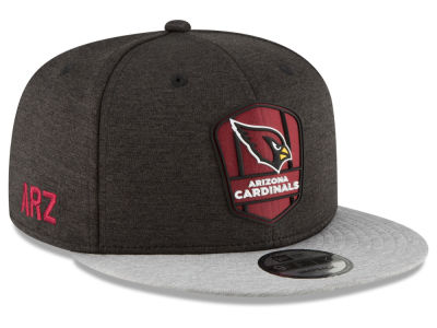 Arizona Cardinals New Era 2018 Official NFL Sideline Road 9FIFTY Snapback Cap