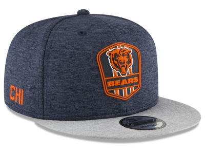 Chicago Bears New Era 2018 Official NFL Sideline Road 9FIFTY Snapback Cap