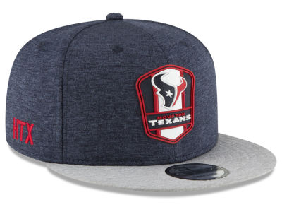 Houston Texans New Era 2018 Official NFL Sideline Road 9FIFTY Snapback Cap