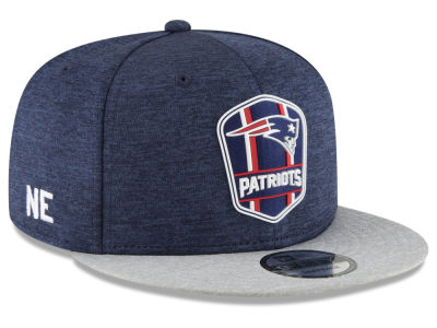 New England Patriots New Era 2018 Official NFL Sideline Road 9FIFTY Snapback Cap