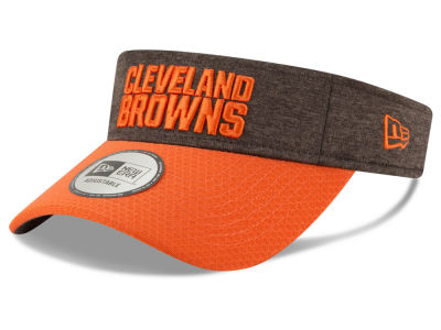 Cleveland Browns New Era 2018 Official NFL Sideline Visor