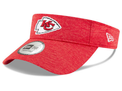 Kansas City Chiefs New Era 2018 Official NFL Sideline Visor