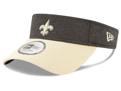 New Orleans Saints New Era 2018 Official NFL Sideline Visor