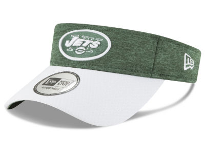 New York Jets New Era 2018 Official NFL Sideline Visor