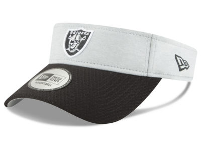 Oakland Raiders New Era 2018 Official NFL Sideline Visor