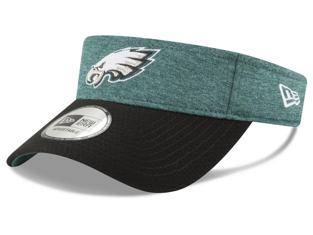 Philadelphia Eagles New Era 2018 Official NFL Sideline Visor  672381666