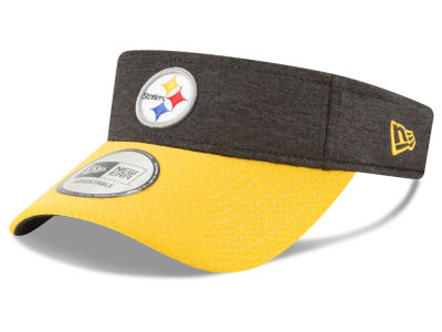 Pittsburgh Steelers New Era 2018 Official NFL Sideline Visor