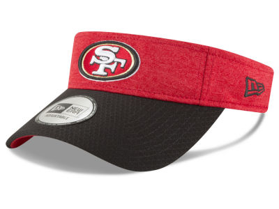 San Francisco 49ers New Era 2018 Official NFL Sideline Visor