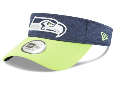 Seattle Seahawks New Era 2018 Official NFL Sideline Visor