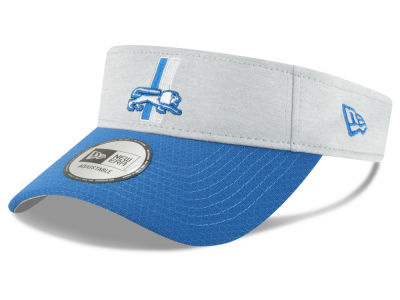 Detroit Lions New Era 2018 Official NFL Sideline Visor