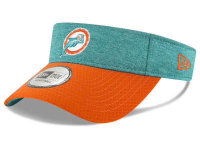 Miami Dolphins New Era 2018 Official NFL Sideline Visor