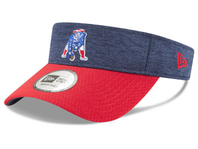 New England Patriots New Era 2018 Official NFL Sideline Visor