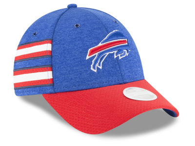 Buffalo Bills New Era 2018 Official NFL Women's Sideline Home 9FORTY Cap