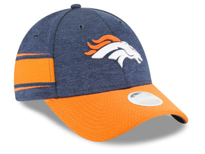 Denver Broncos New Era 2018 Official NFL Women's Sideline Home 9FORTY Cap