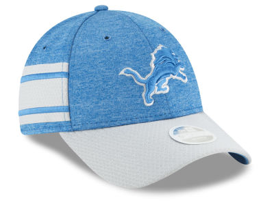 Detroit Lions New Era 2018 Official NFL Women's Sideline Home 9FORTY Cap